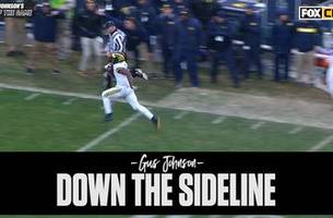 Gus Johnson's Call of the Game: Michigan goes 'DOWN. THE. SIDELINE.' for a big win over little brother Michigan State