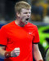 kyle edmund bursts into tears after winning first atp title in belgium