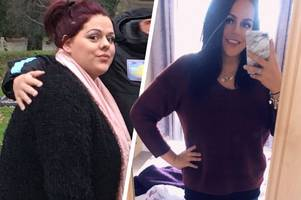 Belper woman battling depression looks GORGEOUS after dropping ten dress sizes
