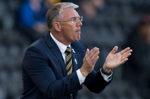 you have to feel for nigel adkins as concentration issues cost hull city