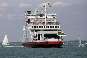 Red Funnel ferry in trouble off Isle of Wight with 'cries of people heard from the water'
