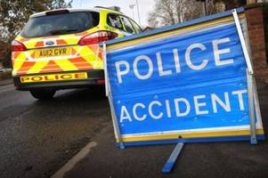 Police release update after three car crash closes A15