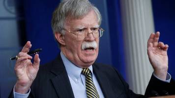 russia nuclear treaty: bolton in moscow amid missile tensions