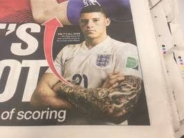 Chelsea's Ross Barkley gets rid of his tattoos