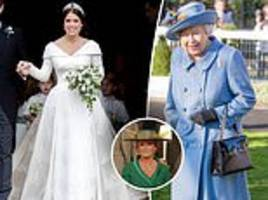 fergie reveals the queen's secret role in eugenie's wedding