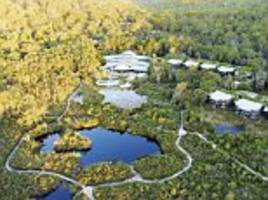 Inside the resort Prince Harry and Meghan Markle will spend the night in during Fraser Island trip