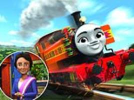 thomas the tank engine's new railway friend is a refugee from kenya called nia