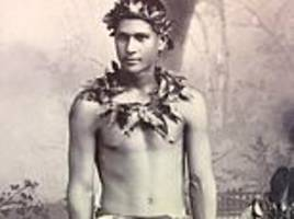 tribal lives of polynesian warriors in the early 1900s are revealed in newly-uncovered photos