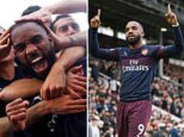 alexandre lacazette is quickly becoming arsenal's main man