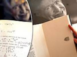 stephen hawking wheelchair, thesis up for auction