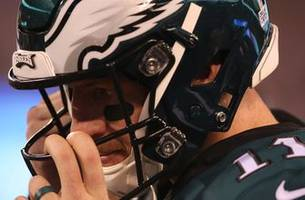 Cris Carter and Nick Wright discuss the Eagles' 4th qtr collapse to the Panthers