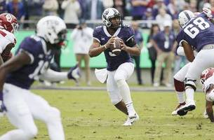 tcu qb robinson will have surgery after shoulder injury