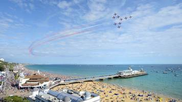 red arrows will not appear at bournemouth air festival 2019