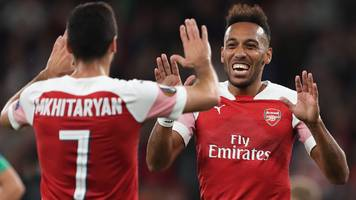arsenal: unai emery says his side must improve to catch man city