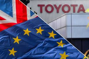 top boss at toyota has this brexit warning for uk and eu