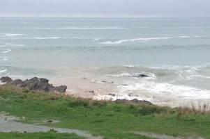 south west water gives latest update on newquay raw sewage spillage repair works