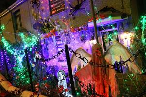welcome to the creepiest halloween house in bodmin