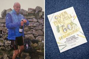 scunthorpe man who documented 500 mile challenge in book shortlisted for award