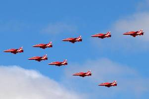 red arrows to miss clacton airshow in 2019