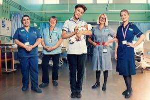 maternity unit at harlow princess alexandra hospital featuring in new six-part documentary emma willis: delivering babies