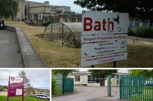 These are the Bath schools with the highest level of truancy