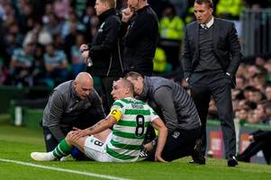 Celtic get to bottom of Scott Brown injury as skipper targets return for cup clash