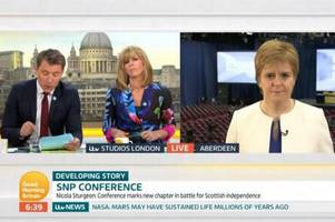 ITV rapped for Nicola Sturgeon interview on Good Morning Britain over false SNP austerity claims
