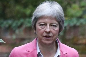 tory brexit civil war gets nasty as zealots tell theresa may she's 'in killing zone' ahead of showdown