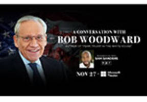 """a conversation with bob woodward, author of """"fear: trump in the white house"""""""