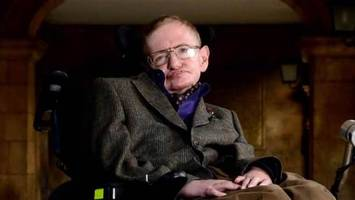 Stephen Hawking's wheelchair, thesis, and 'Simpsons' script are up for grabs
