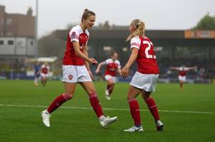 'are you chelsea in disguise?' arsenal fans' delight as women dismantle reading