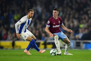 declan rice outlines how west ham can turn form around and hails hugo lloris' performance