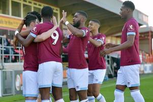 moses makasi targets west ham first team spot but also open to loan move away