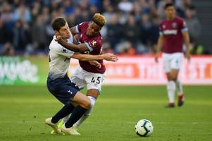 pellegrini has already made a case for diangana to replace injured west ham winger
