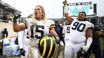 week 9 college football power rankings: it's good to be michigan right now