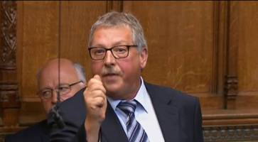 Defy republicans seeking to re-write history, Sammy Wilson tells PM over Troubles soldiers prosecutions
