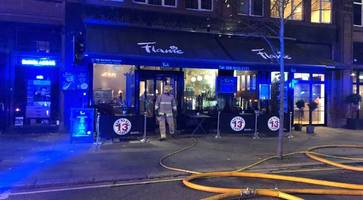 Fire breaks out at 'Flame' restaurant in Belfast