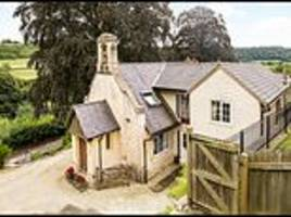 laurie lee's old sunday school in cider with rosie goes on the market for £600,000
