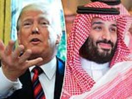 trump calls aftermath of jamal khashoggi's murder 'the worst cover-up in history'