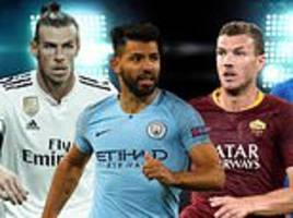 Champions League LIVE updates for Real Madrid, Manchester City and Bayern Munich clashes