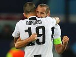 jose mourinho hails bonucci and chiellini and aims thinly-veiled dig at man united hierarchy