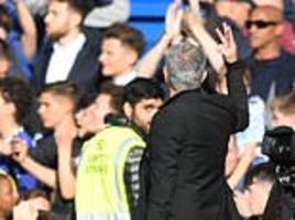 jose mourinho slams chelsea atmosphere after man united draw