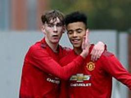 man united u19 4-1 juventus u19: nicky butt's youngsters make it three wins from three