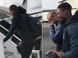 Tottenham fly out to Eindhoven ahead of Champions League clash with PSV