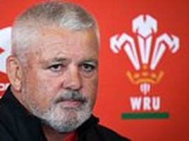 wales boss warren gatland returns home to new zealand following the death of his father