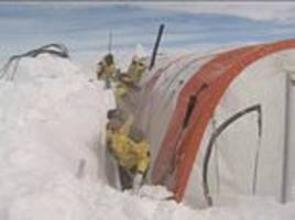 Scientists are drilling 800ft deep holes in Antarctic ice sheets