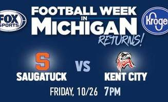 FOX Sports Detroit to broadcast MHSAA Week 1 playoff game at Kent City Friday
