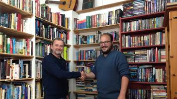 dutchman's 'pure shock' after winning cardigan bookshop