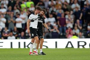 update on george evans after injury setback for the derby county midfielder
