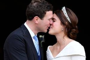 photos from princess eugenie's wedding reception revealed - and it looks amazing